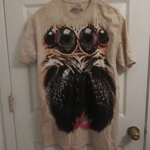 Jumping Spider T Shirt NWOT